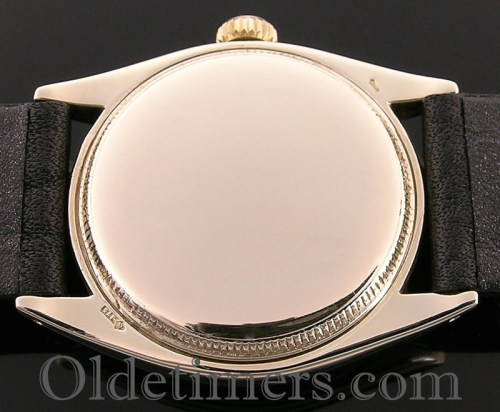 1950s 9ct gold vintage Rolex Oyster Precision watch