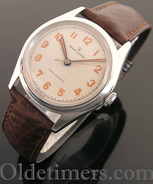 1940s steel vintage Rolex Oyster watch (3952)