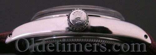 1960s steel vintage Rolex Airking watch