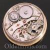 1920s 18ct gold round vintage Camerer Cuss watch