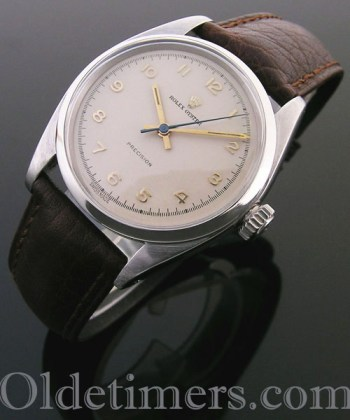 1950s steel vintage Rolex Oyster Precision watch