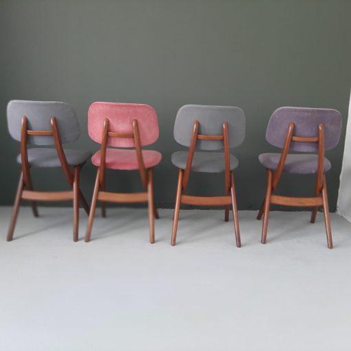 Louis van Teeffelen scissor chairs