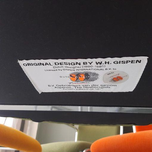 Gispen 413RL buisframe stoelen