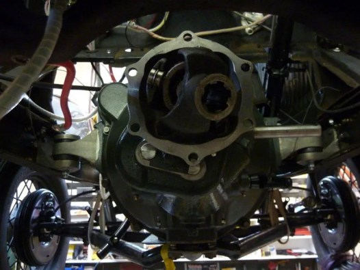 Gearbox & Engine Mounts - The new gearbox is fitted. The new engine mounts are great and will lessen the vibration.