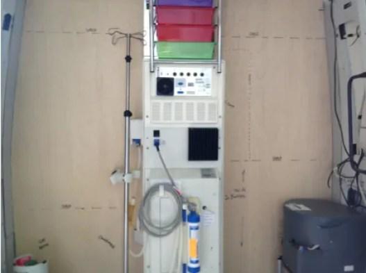 The dialysis machine