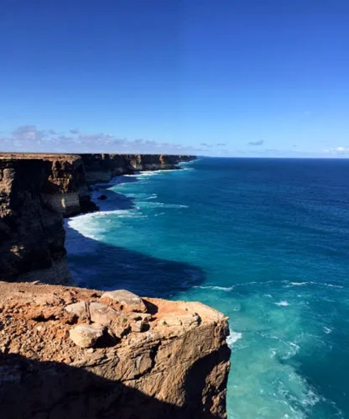 Amazing Cliffs at the Great Australian Bite