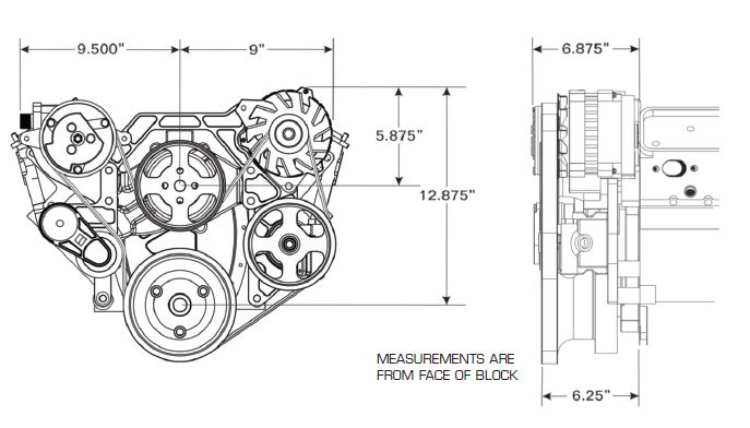 Vintage Air » Blog Archive FRONT RUNNER Engine Accessory