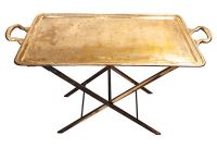 Unusual Tray table - Silver Plated - Vintage American Home