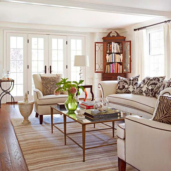 Using Traditional Furniture in a Modern Home - Vintage ...