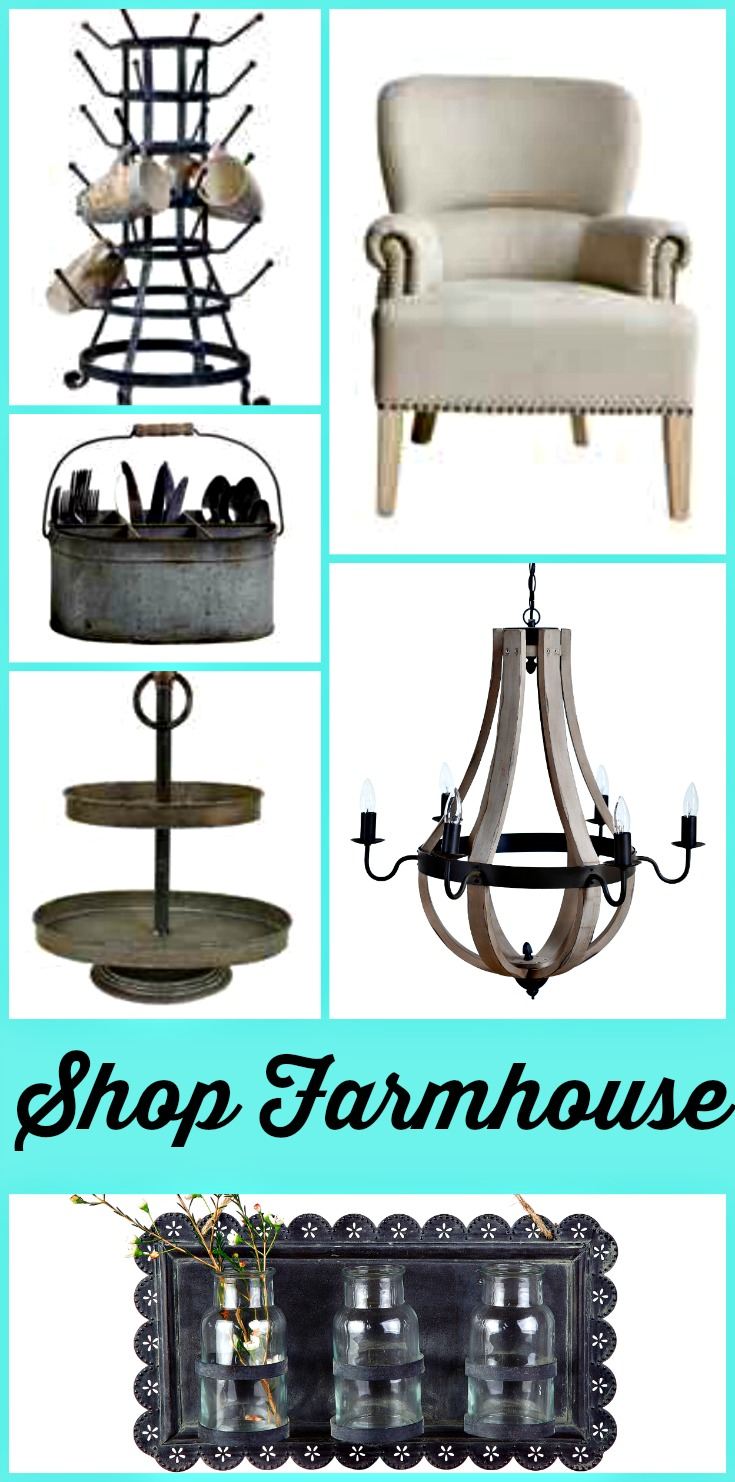 Farmhouse STYLE Decorations Available For Sale Online