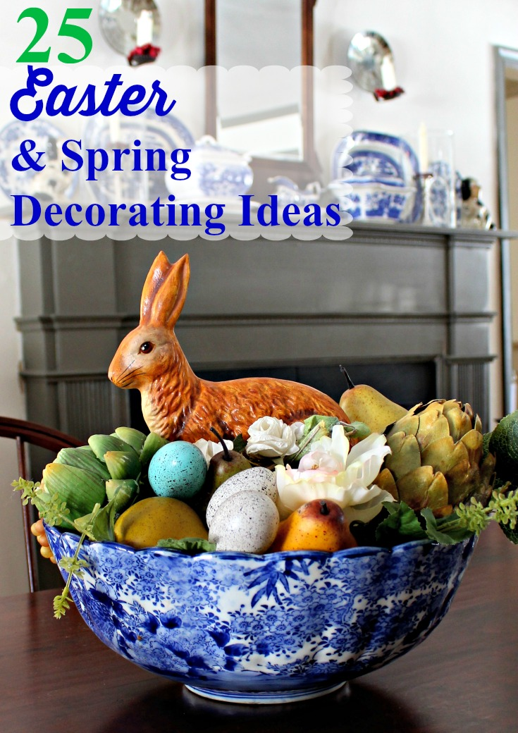 Spring and Easter Decorating Ideas  Vintage American Home