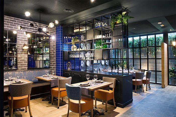 Un restaurante gallego en Madrid rebosante de buen gusto