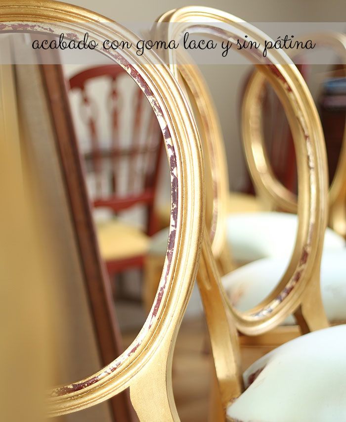 Cmo dar un acabado dorado a tus muebles  DIY Gilding