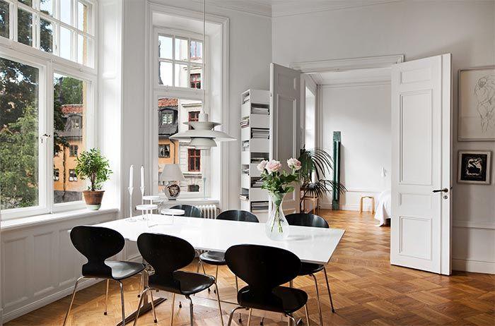 Estilo nrdico y techos altsimos en Estocolmo  Nordic