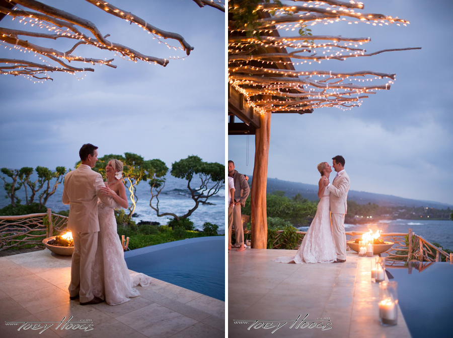 Luxury Estate Big Island Wedding Kona Wedding