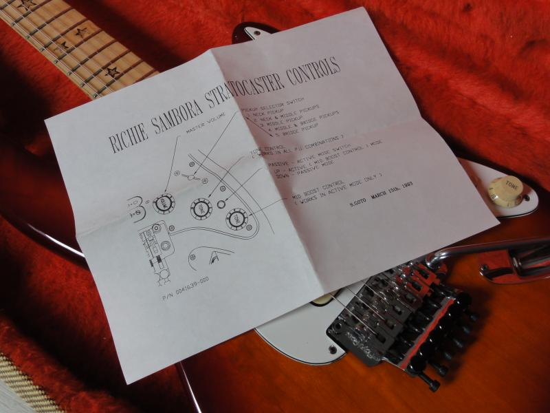 Kramer Richie Sambora Japan Wiring Diagram