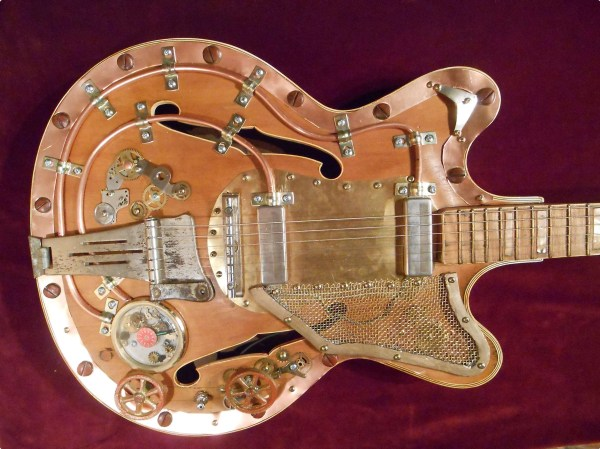 Art Steampunk Guitars for Sale