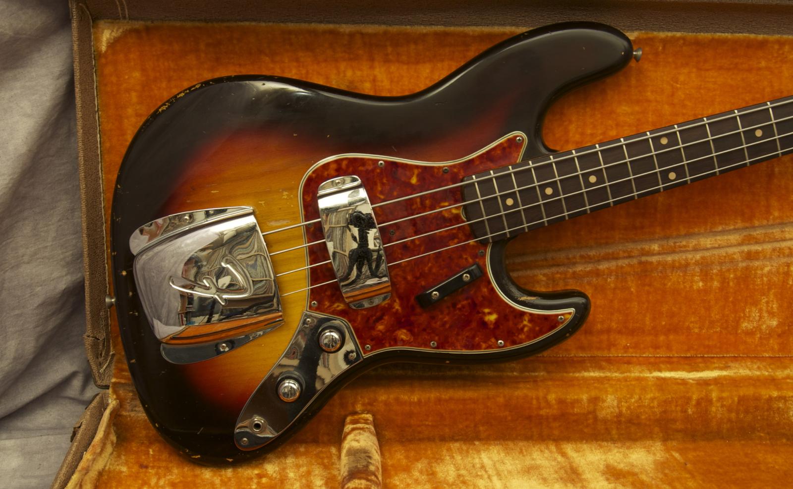 Fender Jazz 1960 Sunburst Bass For Sale Andy Baxter Bass