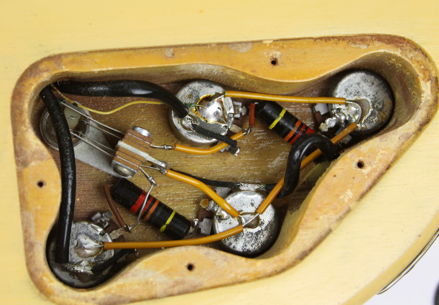 gibson les paul special wiring diagram lg microwave oven circuit 1960 tv yellow guitar for sale