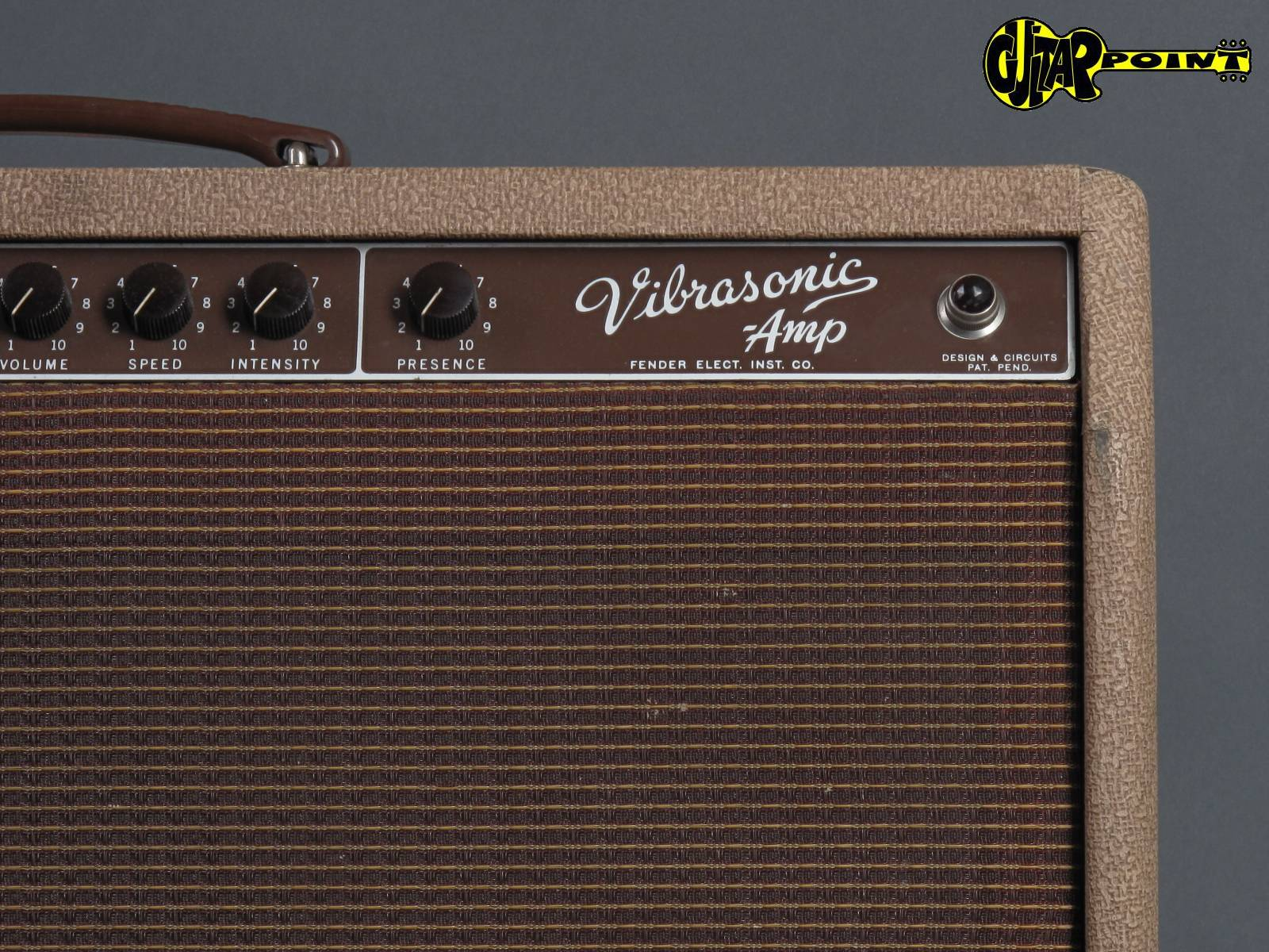 Fender Vibrasonic Brownface Brownface Amp For Sale