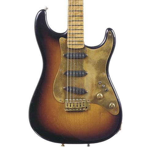 Pickguard Wiring Of Vintage Schecter Strat Mark Knopfler Guitar