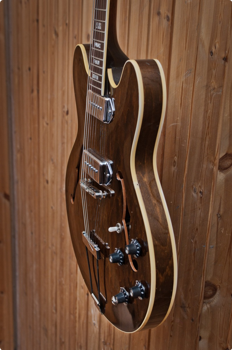 hight resolution of  gibson es 330 1968 walnut