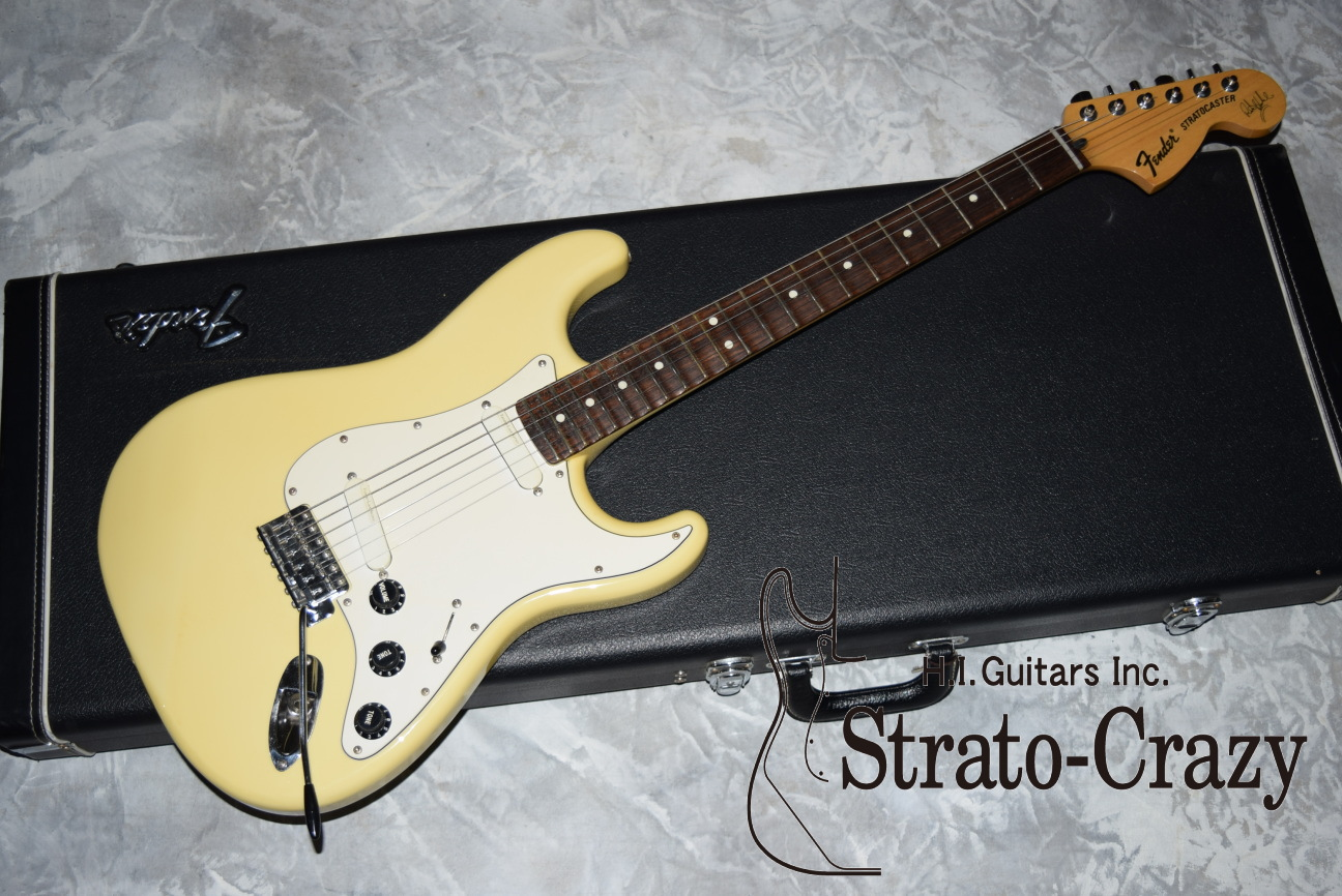 fender japan ritchie blackmore signature stratocaster st 175rb 1997 olympic white  [ 1296 x 866 Pixel ]