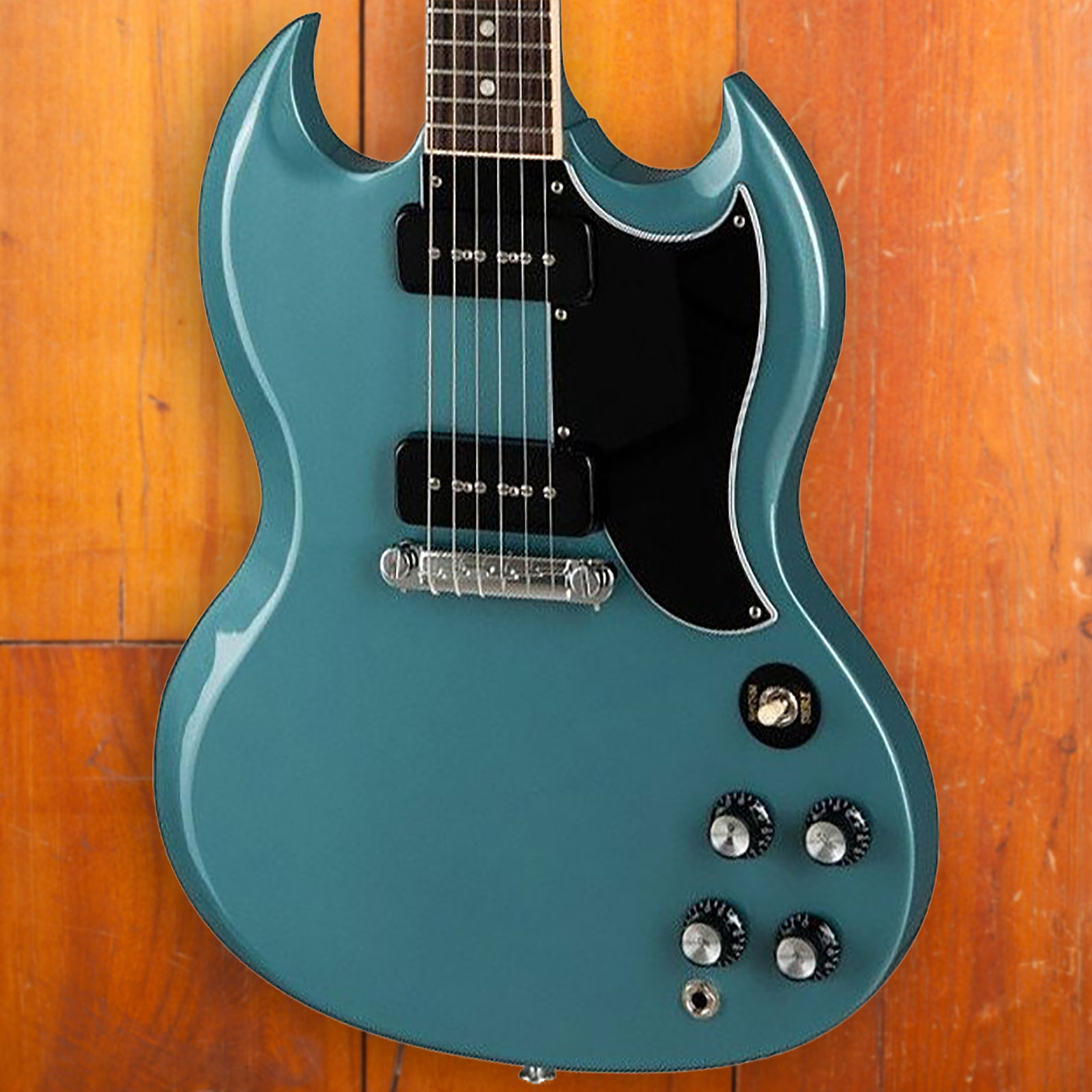 gibson sg special 2019 faded pelham blue  [ 1600 x 1600 Pixel ]
