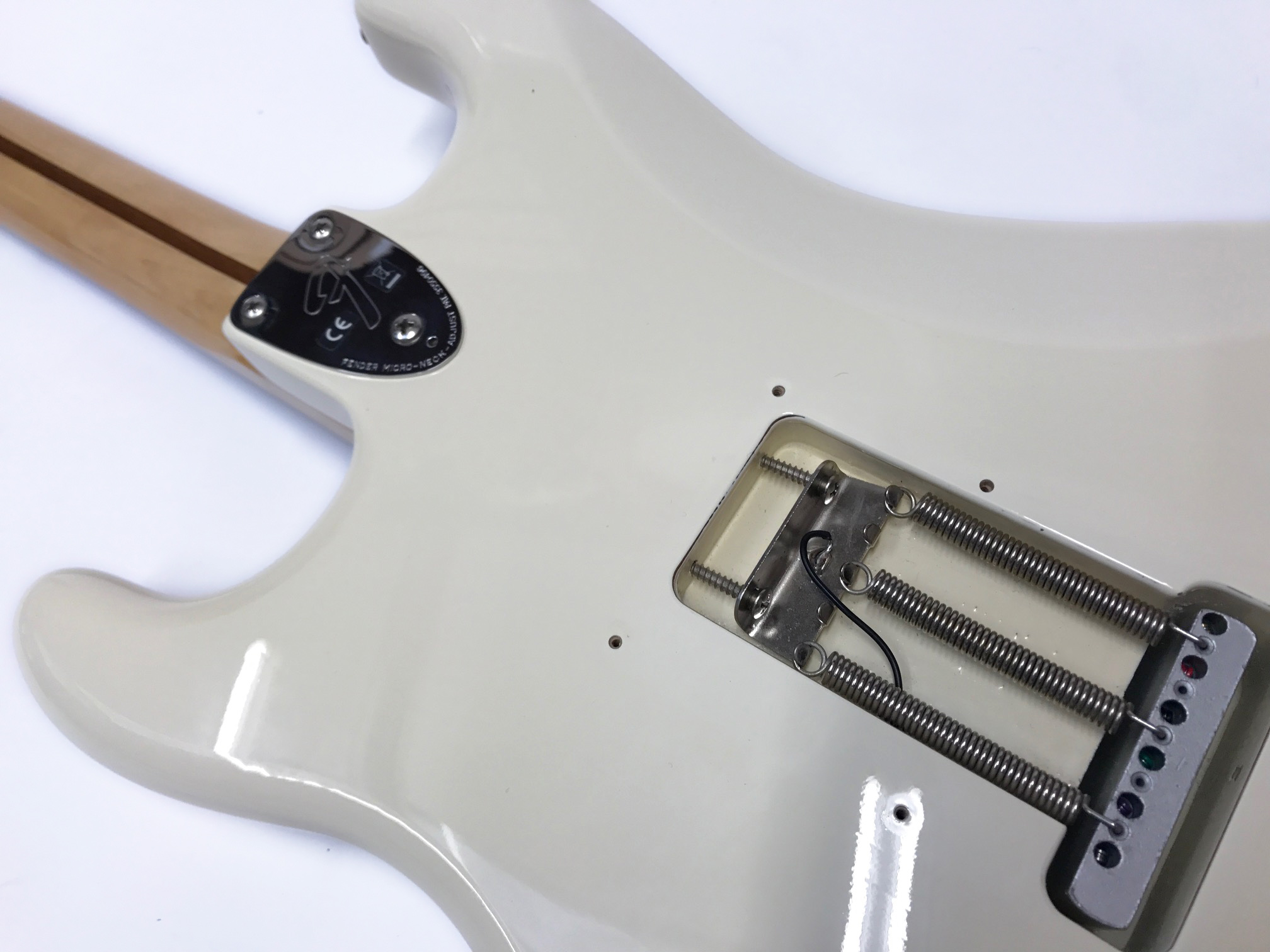hight resolution of  fender stratocaster ritchie blackmore signature edition pre owned 2011 white