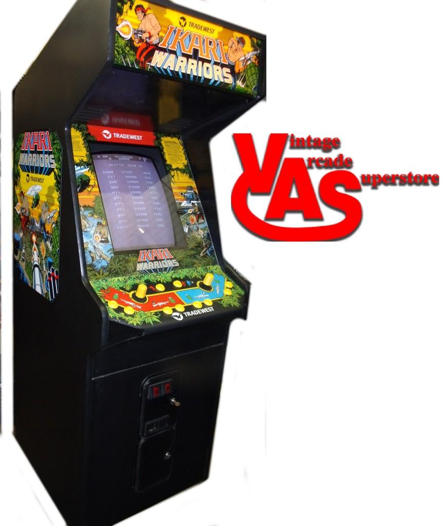 Ikari Warriors Arcade game for sale Vintage Arcade