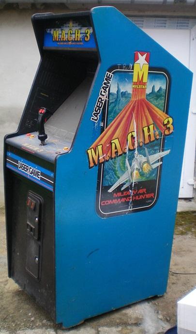 MACH 3  Vintage Arcade Superstore