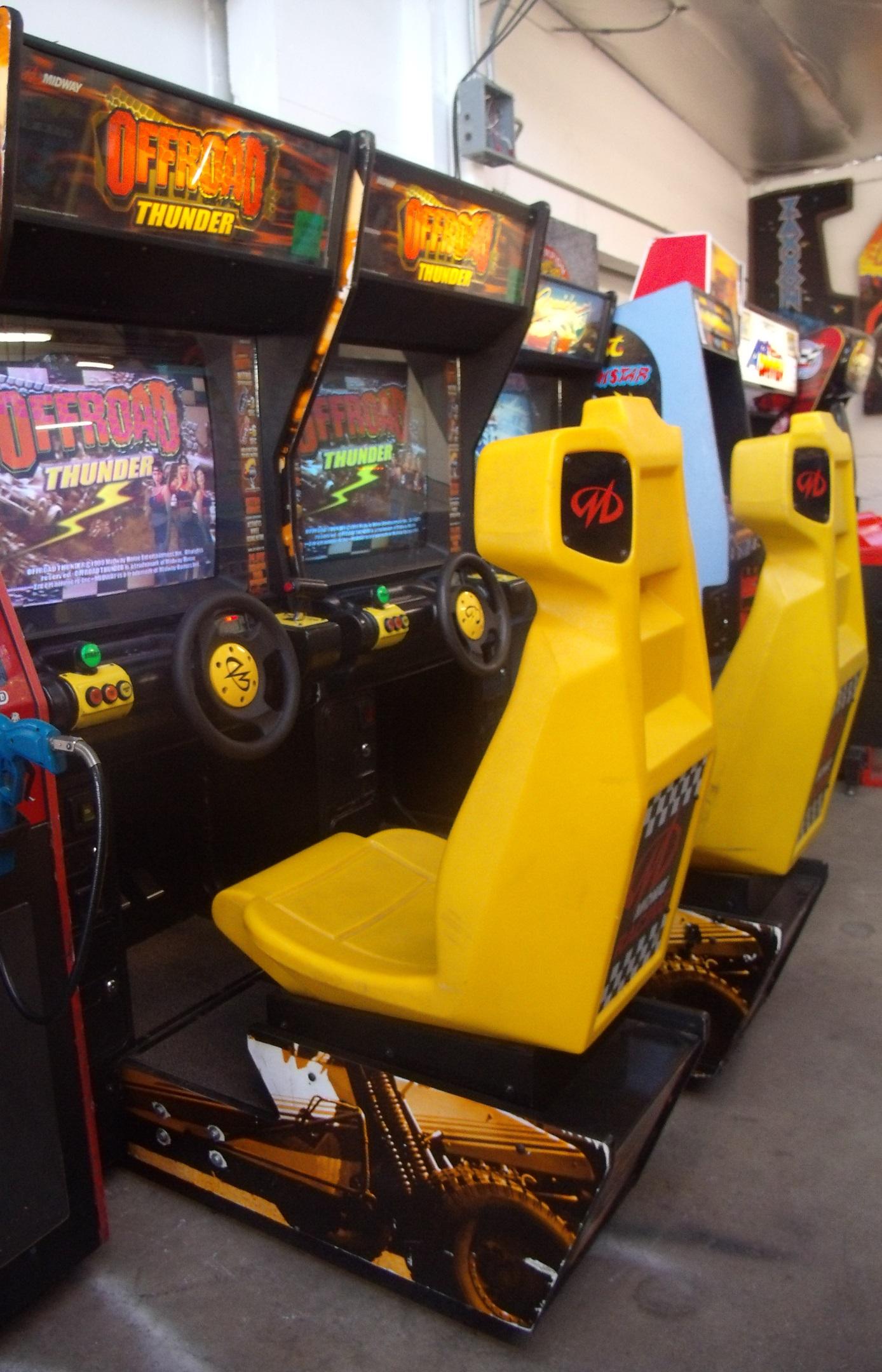 Off Road Thunder Arcade Game Vintage Arcade Superstore