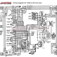 Airtex Fuel Pump Wiring Diagram 1994 Acura Integra Alarm 1942-1948 Ford/mercury/ Car Or Truck 6v-12v Conversion Kit | Vintage Auto Garage