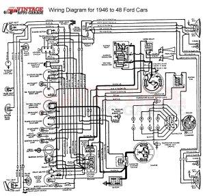 19461948 Ford Mercury Chrome 6V12V Conversion Kit