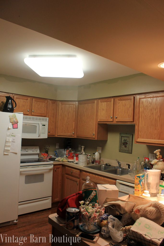 degreaser for wood kitchen cabinets kohler pull down faucet how to update less than $200 | vintage barn ...