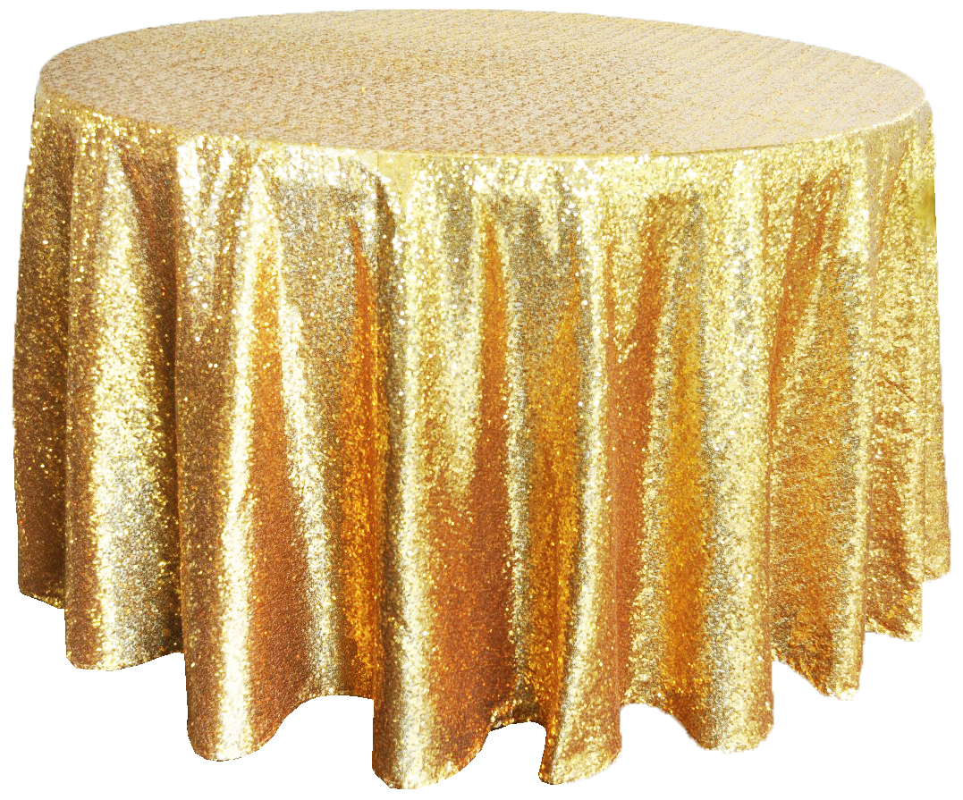 gold sequin chair covers west marine chairs tablecloth for rent vintagebash