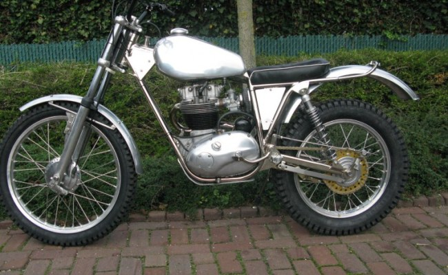 1965 Bsa B40 Trials Classic Motorcycle Pictures