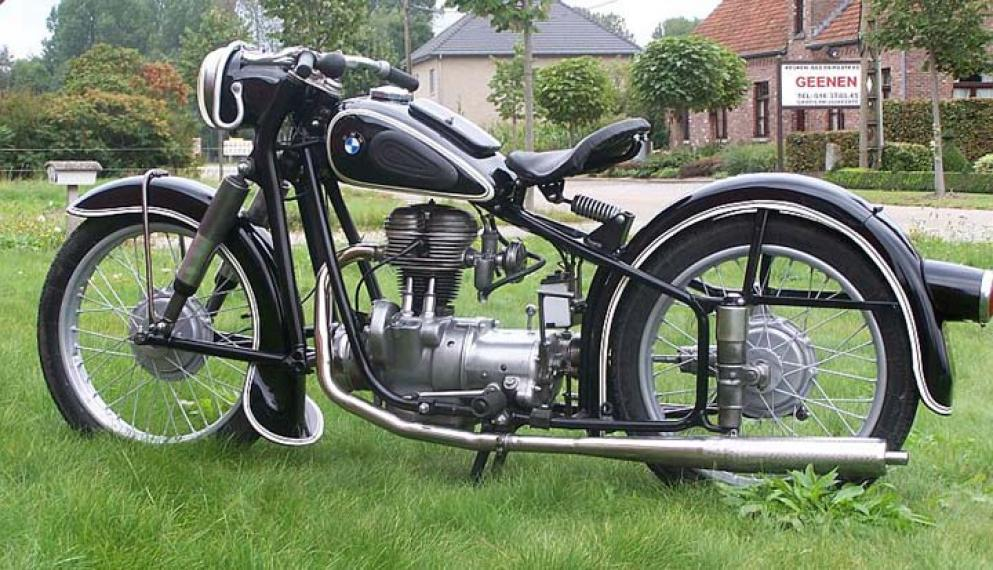 1955 BMW R25 Classic Motorcycle Pictures