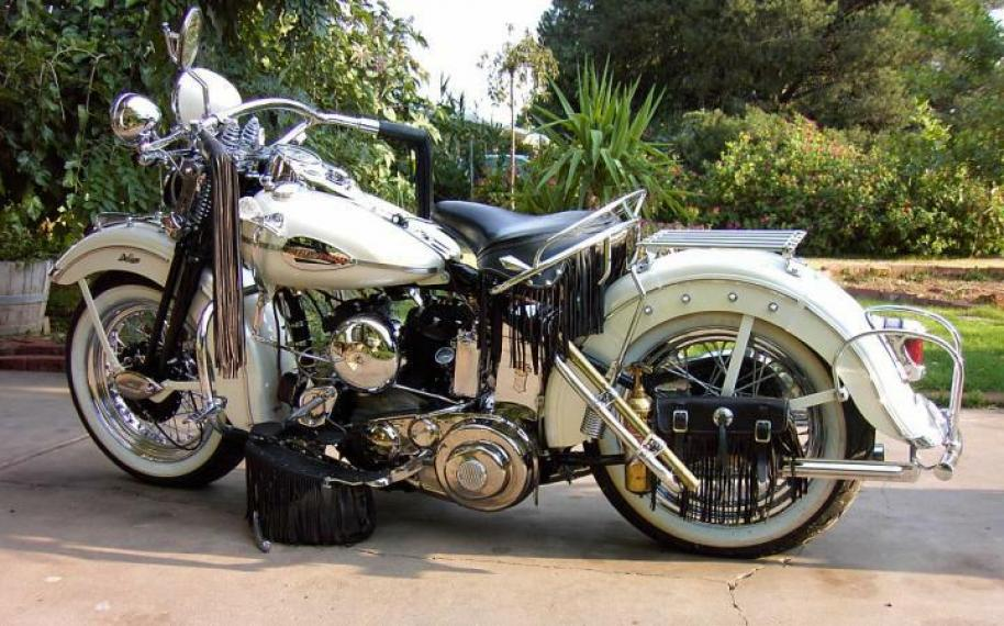 1942 Harley Davidson WL Classic Motorcycle Pictures