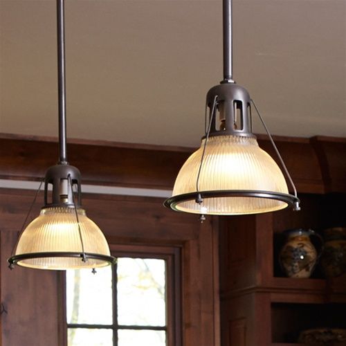 pendant lighting for kitchen islands how to resurface cabinets vintage holophane | antique industrial