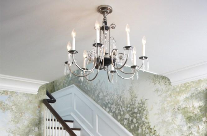 Vintage Originals Lighting Portfolio Crystal Danish Chandelier Image
