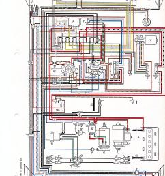 thesamba com beetle late model super 1968 up view topic wiring diagram for old  [ 1275 x 1755 Pixel ]