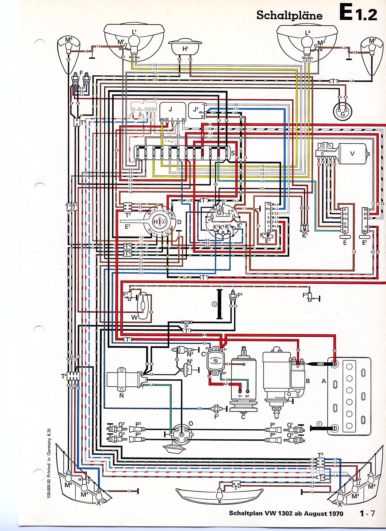 hight resolution of thesamba com beetle late model super 1968 up view topic wiring diagram for old