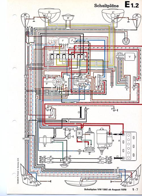 small resolution of thesamba com beetle late model super 1968 up view topic wiring diagram for old