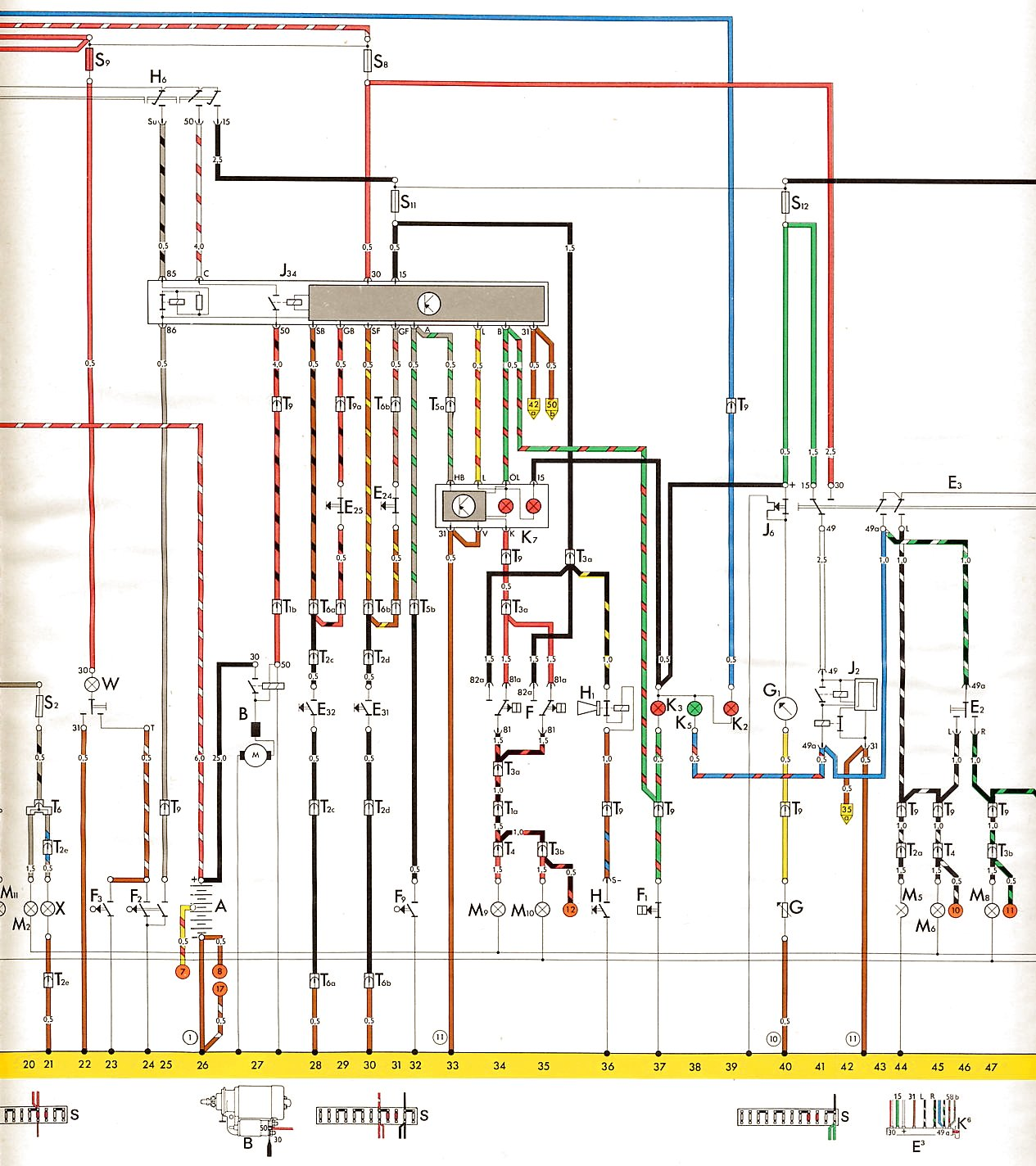 hight resolution of  vw 1971 fuse diagram http www vintagebus com wiring 1303 u