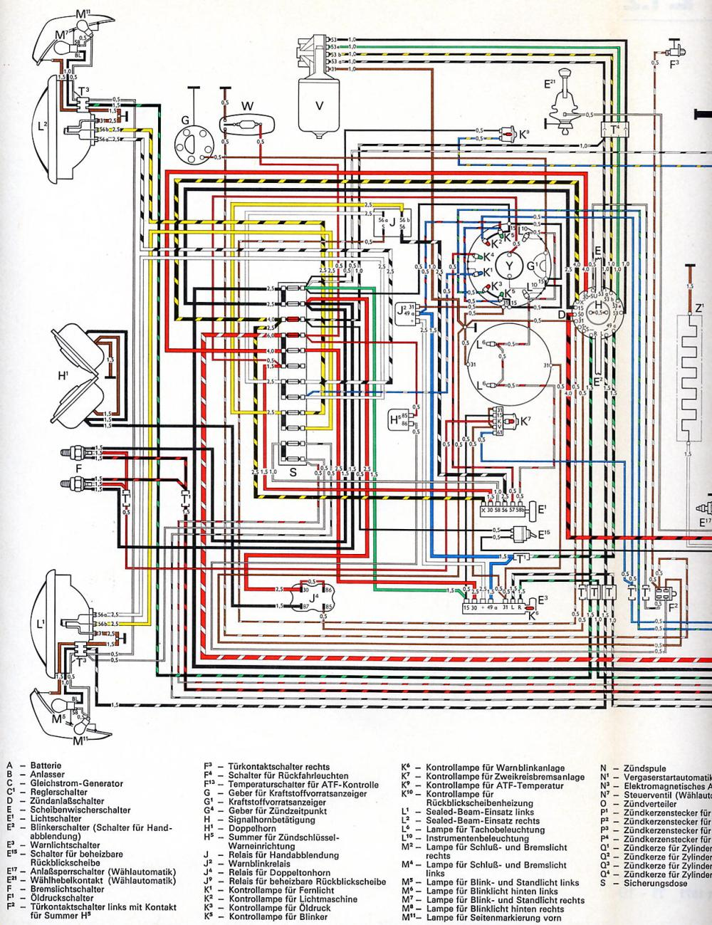 medium resolution of karmann ghia usa from august 1971 1 wiring diagram shoptalkforums com vw golf mk1 wiring diagram pdf at cita asia