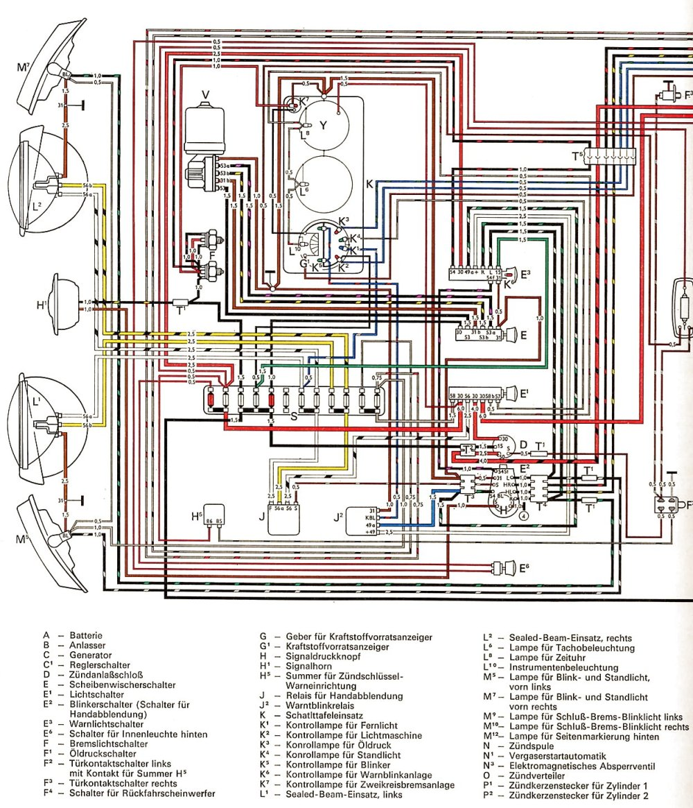 medium resolution of 1969 vw wiring diagram schema diagram database 69 vw generator wiring diagram