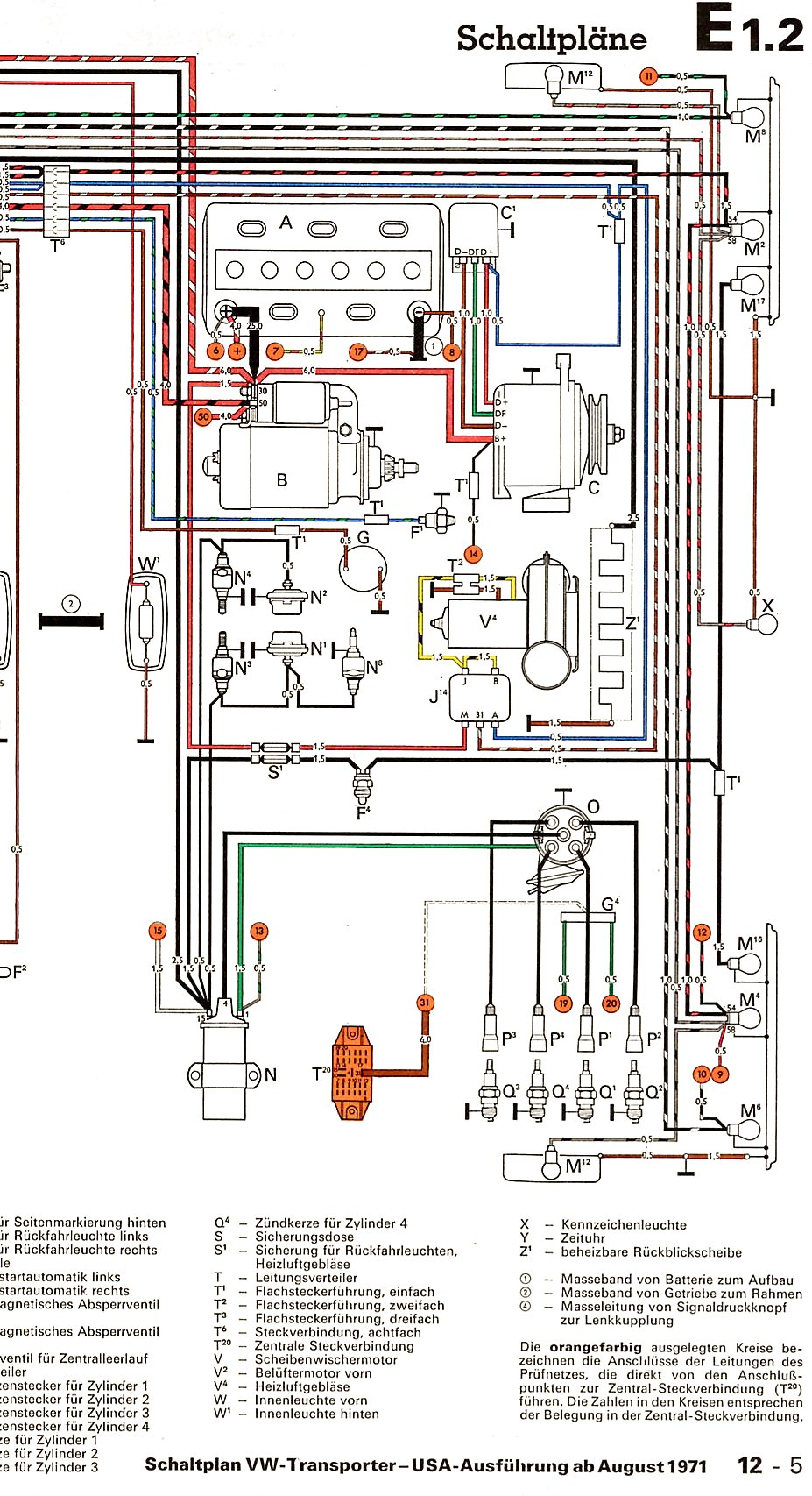 Wiring Diagram Vanagon Firewall Box Trusted Diagrams Instrument Cluster Body 86 Dimmer Switch