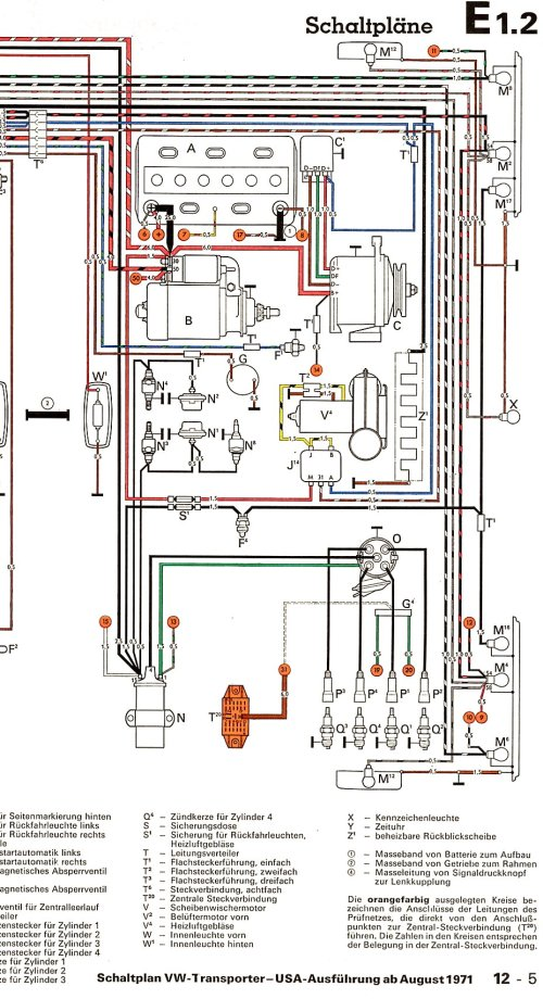small resolution of 1971 volkswagen wiring diagram wiring diagram source rh 16 2 logistra net de 1971 mustang wiring