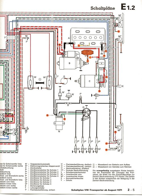 small resolution of volkswagen wiring colours wiring diagram govintagebus com vw bus and other wiring diagrams volkswagen